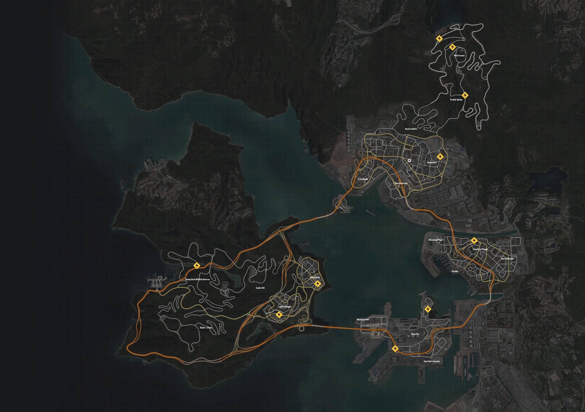 Nfs Undercover Map