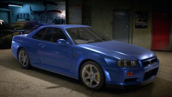 Nissan Skyline GT R V Spec R34
