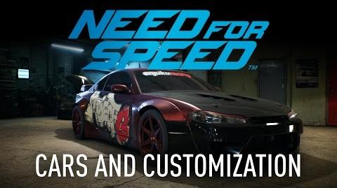 Need for Speed - Gameplay Innovations Cars & Customization
