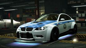 NFSW BMW M3 GTS Cop