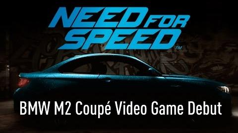 Need For Speed - BMW M2 Coupé Video Game Debut