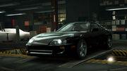 NFSW Toyota Supra Black