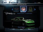 NFSHP2 Car - Dodge Viper GTS NFS PC