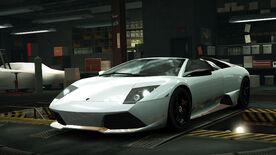NFSW Lamborghini Murcielago LP 650-4 Roadster White