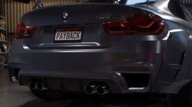 NFSPB BMW M4GTS Rear Teaser