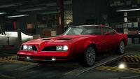 NFSW Pontiac Firebird Formula Red
