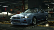 NFSW Nissan Skyline GT-R V-Spec R34 Blue