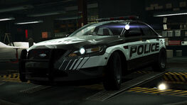 NFSW Ford Police Interceptor Sedan