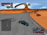 Porsche 993 911 Carrera in the PSX version of The Need for Speed