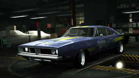 NFSW Dodge Charger RT Royal Purple
