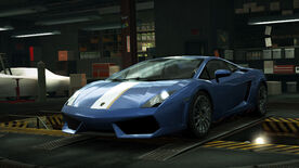 NFSW Lamborghini Gallardo LP550-2 Valentino Balboni Blue
