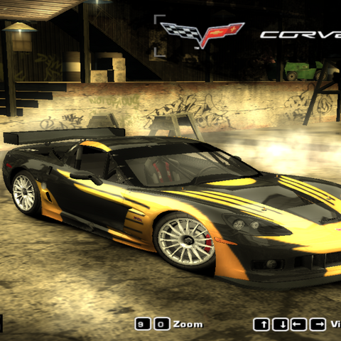 Chevrolet Corvette C6.R Crossa<br /><small>(Need for Speed: Most Wanted - Beta)</small>