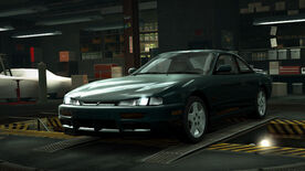 NFSW Nissan 200SX S14 Green