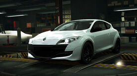 NFSW Renault Mégane RS White