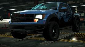 NFSW Ford F-150 SVT Raptor Blue Juggernaut