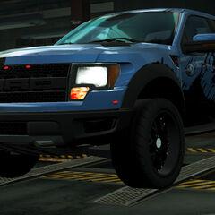 <i>Need for Speed: World</i><br /><small>(<i>Niebieski Juggernaut</i>)</small>