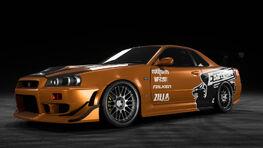 NFSPB NissanSkylineR34Eddie Garage