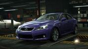 NFSW Lexus IS F Purple
