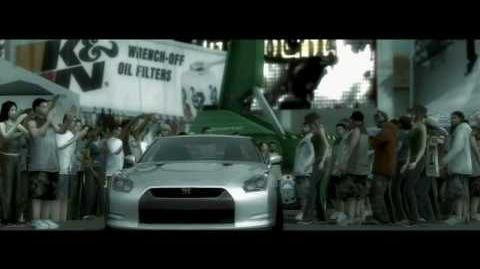 Need for Speed ProStreet - Trailer - Nissan GT-R - Xbox360 PS3