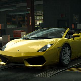 Need For Speed World - Żółty
