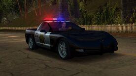 NFSHP2 PC Chevrolet Corvette Z06 Pursuit