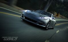 Nfs world porsche panamera turbo