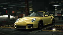 NFSW Porsche 991 GT2 997 Yellow