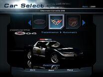 NFSHP2 Car - Pursuit Corvette Z06 PC