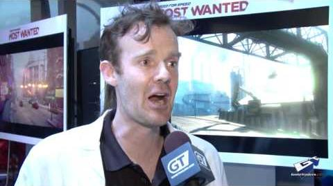 "Need For Speed Most Wanted - E3 2012 Matt ""Professor"" Follett Interview"