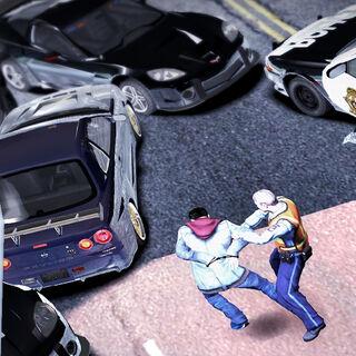 Gracz aresztowany przez policję<br /><small>(<i>Need for Speed: Carbon</i>)</small>