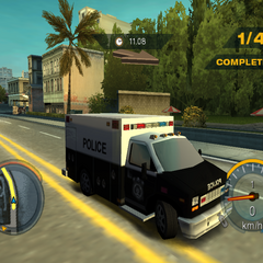 Need for Speed: Undercover<br /><small>(PlayStation 2 - policyjny)</small>