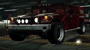 NFSW Hummer H1 Alpha Red Juggernaut