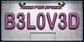 WorldLicensePlateB3L0V3D