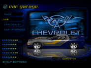 Race Bred Pro Cup Corvette in the PSX version of Need for Speed High Stakes