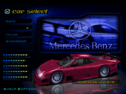 NFSHS PS1 Mercedes Benz CLK-GTR