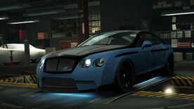 NFSW Bentley Continental Supersports Blue Juggernaut