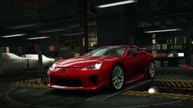 NFSW Lexus LFA Red