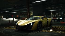 NFSW Marussia B2 Yellow