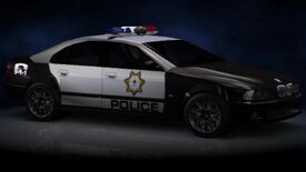 NFSHP2 PS2 BMWM5 Police