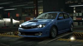 NFSW Subaru Impreza WRX STI Hatchback Blue