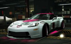 Nfs world corvette z06 the beauty 2012