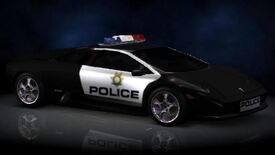 NFSHP2 PS2 LamborghiniMurciélago Police