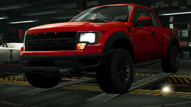 NFSW Ford F-150 SVT Raptor Red