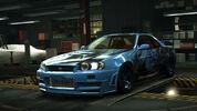 NFSW Nissan NISMO R34GT-R Z-tune Blue Juggernaut