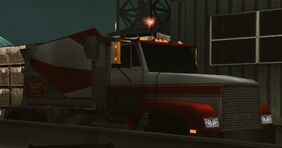 NFSUG2 cement truck parked