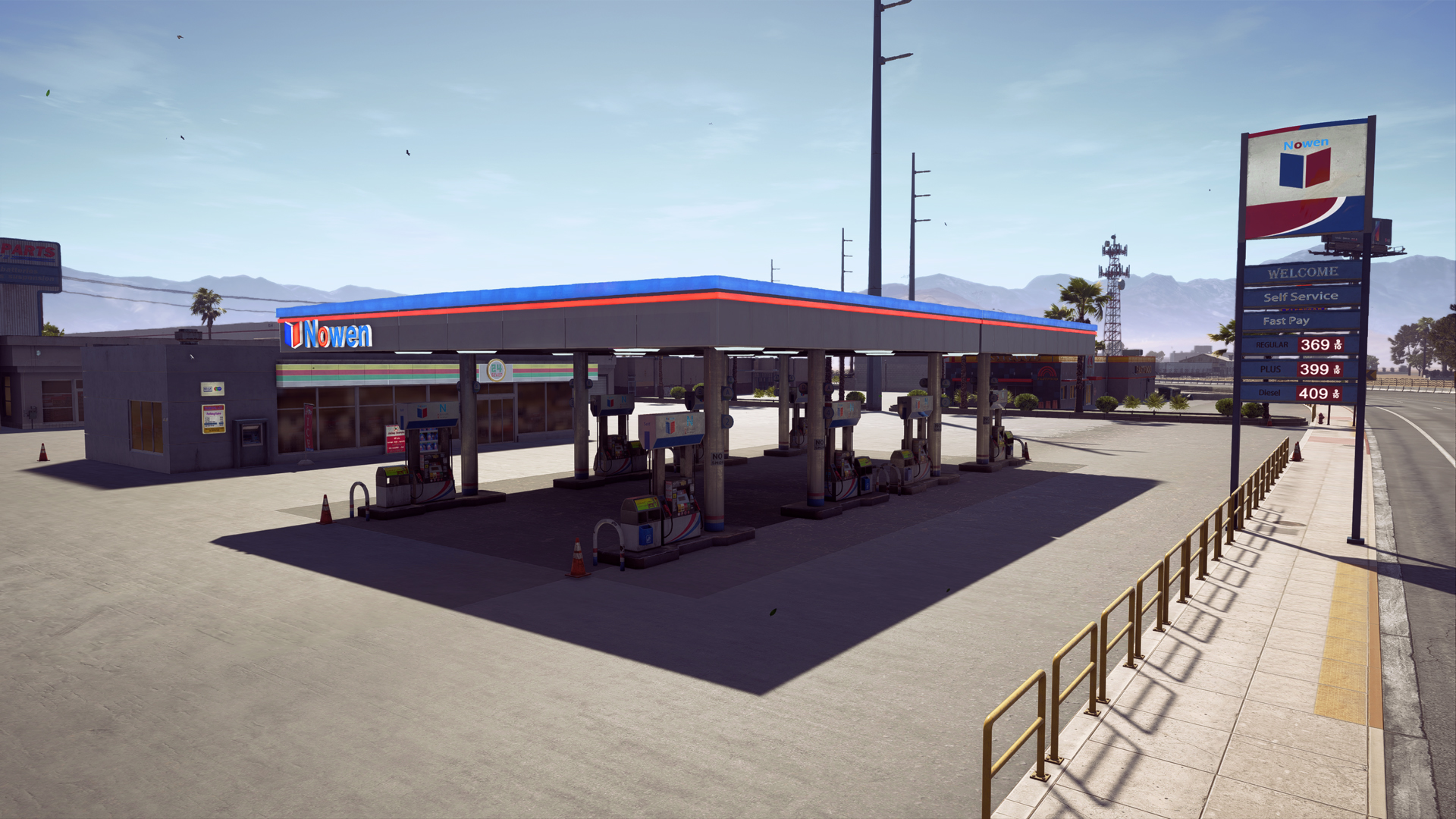 Lakeside Gas Station Need For Speed Wiki Fandom