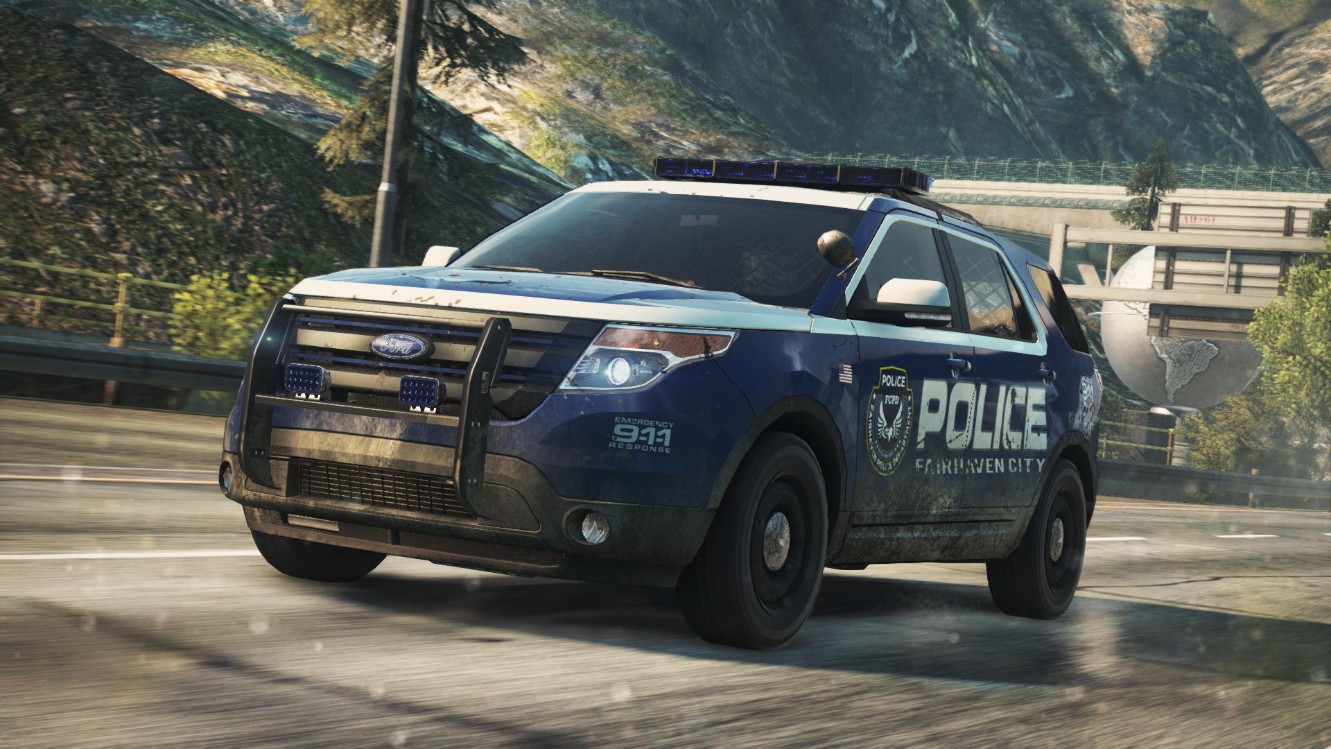Police Interceptor Utility Concept