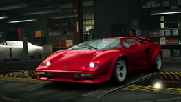 NFSW Lamborghini Countach 5000QV Red