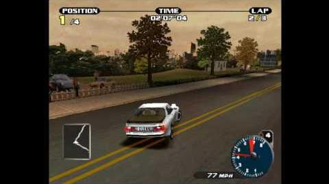 Need for speed- Porsche 2000 - 924 Carrera GT