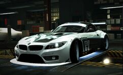 Nfs world bmw z4 gt3 easter edition